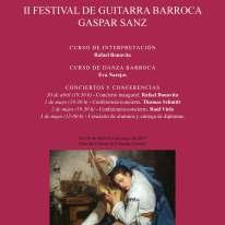 Cartel II Festival Gaspar Sanz